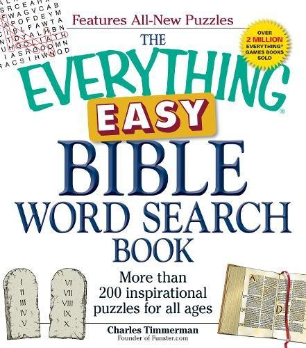 Easy Bible Word Search Book (The Everything)