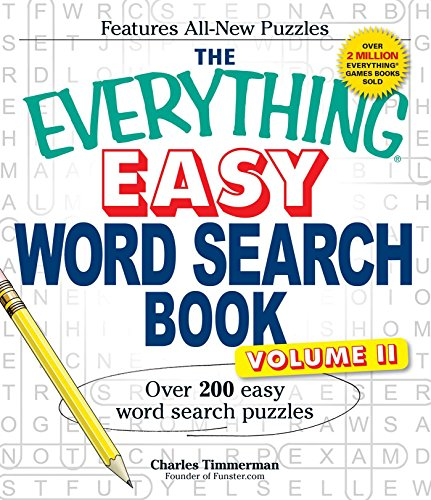 Easy Word Search Book, Volume II (The Everyting)
