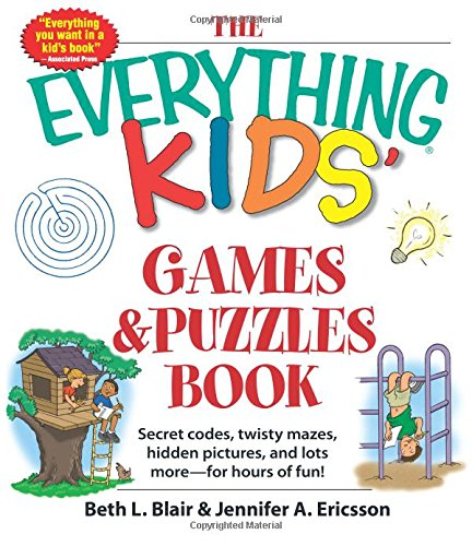 Games & Puzzles Book (The Everything Kids')