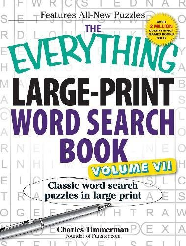 Large-Print Word Search Book, Volume 7 (The Everything)