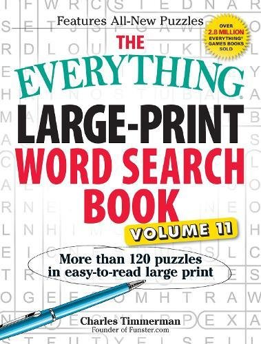Large-Print Word Seach Book, Volume 11 (The Everything)