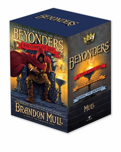 Beyonders: The Complete Set (A World Without Heroes/Seeds of Rebellion/Chasing the Prophecy)