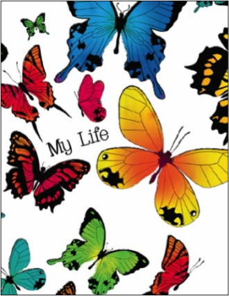 My Life: Butterfly (Notebook)