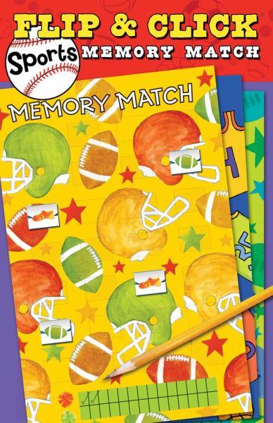 Flip & Click Sports Memory Match