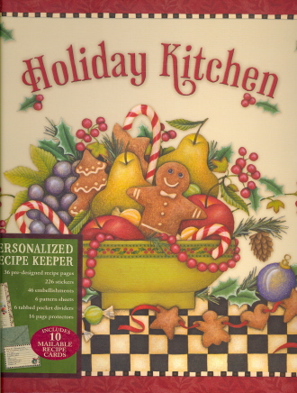 Holiday Kitchen (Personalized Recipe Keeper)