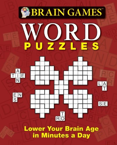 Word Puzzles: Lower Your Brain Age in Minutes a Day (Brain Games)