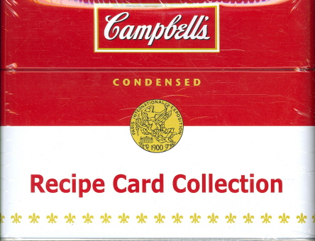 Campbell's: Recipe Card Collection Tin