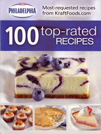 100 Top-Rated Recipes (Kraft Philadelphia)