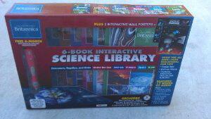 6-Book Interactive Science Library (Encyclopedia Britannica)