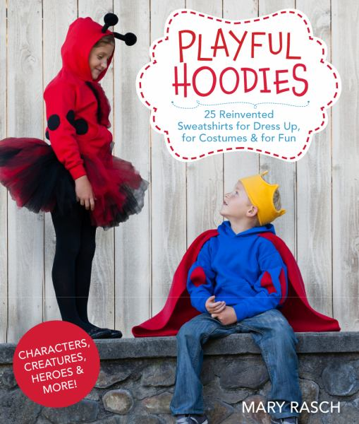 Playful Hoodies to sew for kids - 25 Reinvented Sweatshirts for Dress Up, for Costumes & for Fun