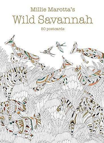 Millie Marotta's Wild Savannah Postcards