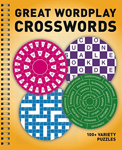 Great Wordplay Crosswords: 100+ Variety Puzzles