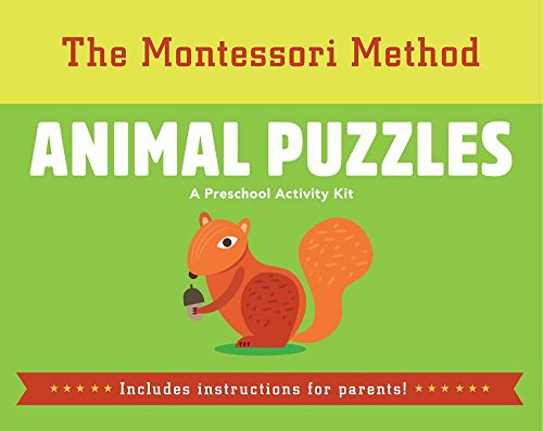 Animal Puzzles (The Montessori Method)