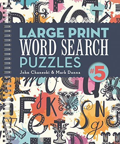 Large Print Word Search Puzzles #5