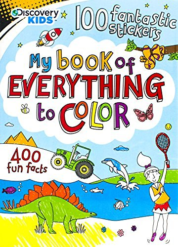 My Book of Everything to Color (Discovery Kids)