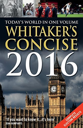 Whitaker's Concise 2016