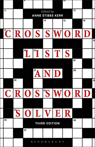 Crossword Lists & Crossword Solver (Third Edition)