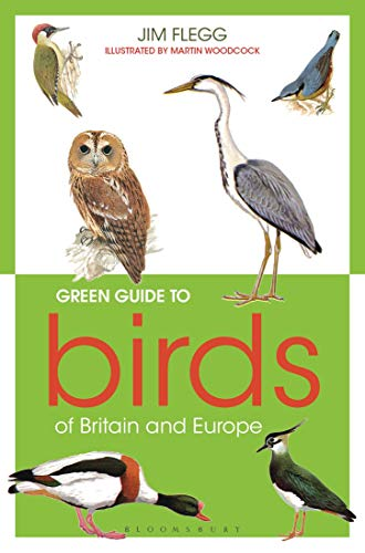 Green Guide to Birds Of Britain And Europe (The Wildlife Trusts)