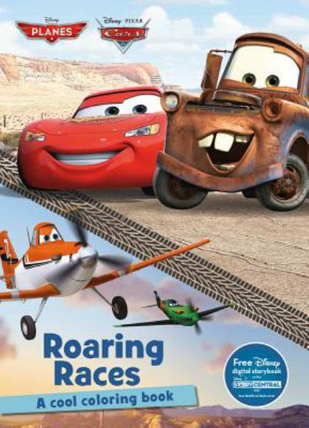 Roaring Races Coloring Book (Disney Cars & Planes)