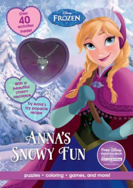 Anna's Snowy Fun (Disney Frozen Activity Book With Necklace)