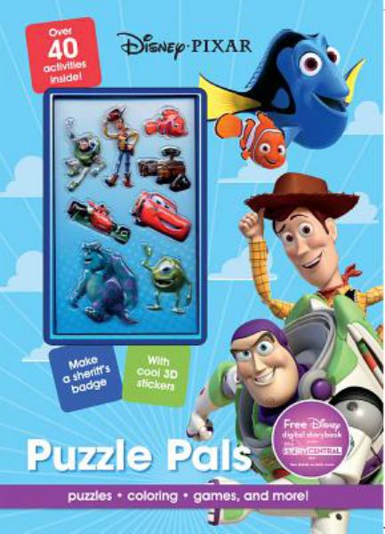 Puzzle Pals Activity Book (Disney Pixar)