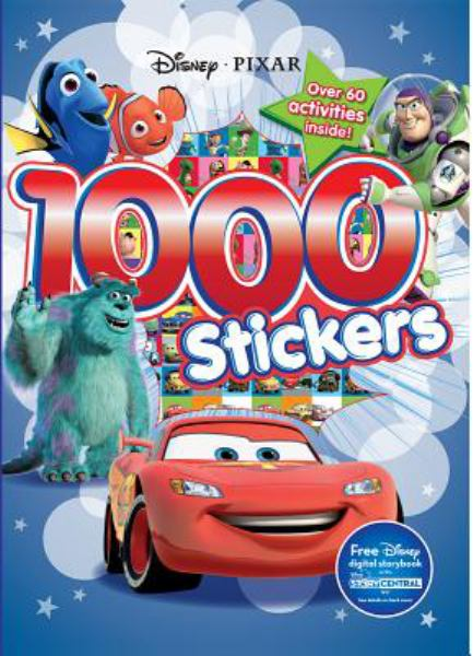 1000 Stickers (Disney Pixar)