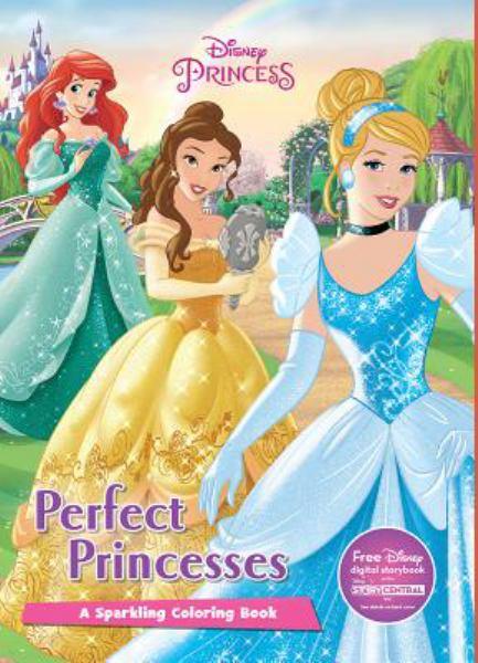 Perfect Princesses Coloring Book