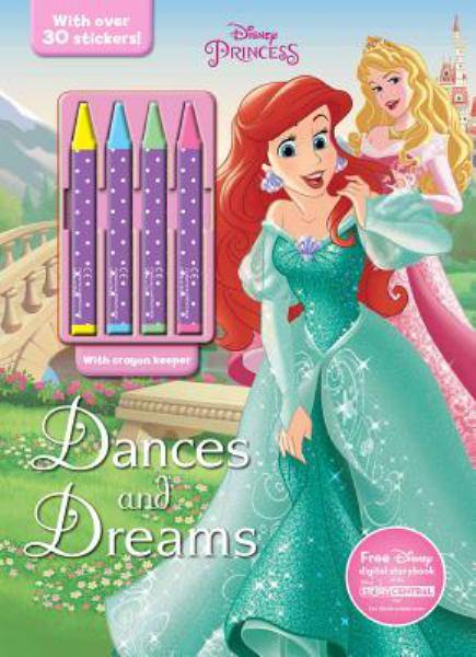 Dances And Dreams (Disney Princess Coloring Book With Crayons) -  BookOutlet.com