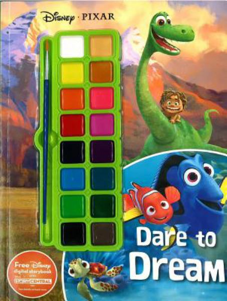 Dare to Dream Paint Palette Book (Disney Pixar)