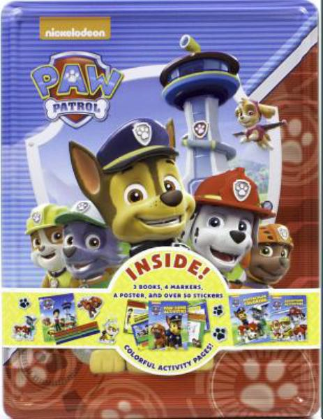 Paw Patrol Collector's Tin (Happy Tin)