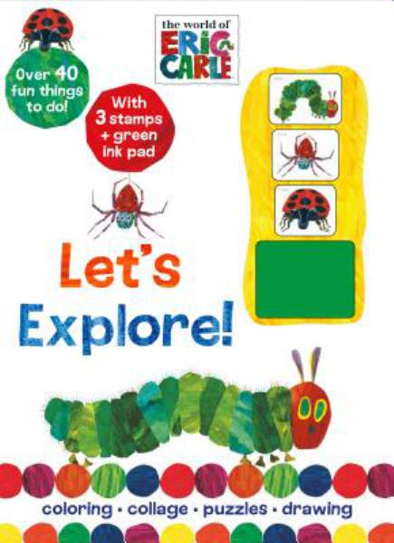Let's Explore! with Stamps and Ink Pad (The World of Eric Carle)