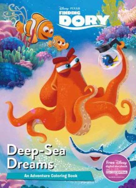 Deep-Sea Dreams (Disney Pixar Finding Dory Coloring Book)