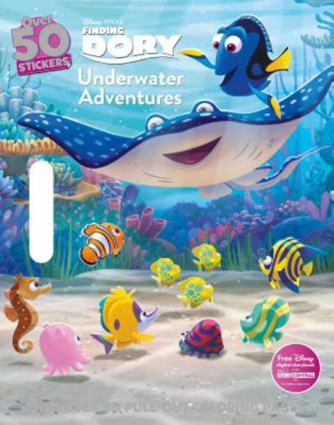 Underwater Adventures (Finding Dory Floor Coloring Pad)