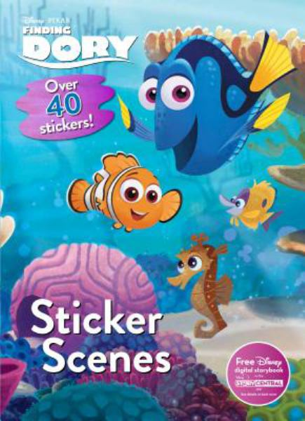 Sticker Scenes (Disney Pixar Finding Dory)