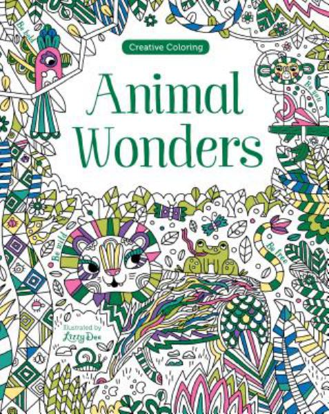 Animal Wonders (Creative Coloring)