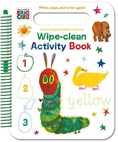 The World of Eric Carle Wipe-Clean Activity Book