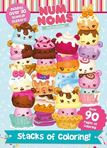 Stacks of Coloring! (Num Noms Coloring Book)