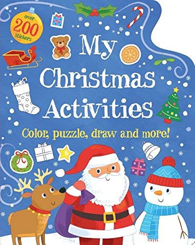 my christmas activities colour puzzle draw and more