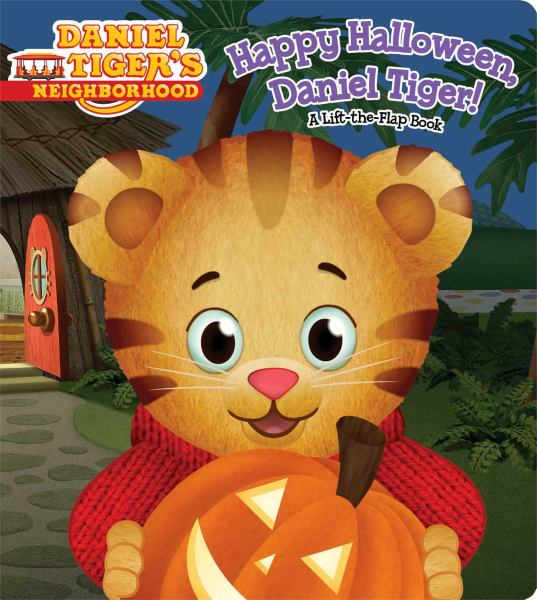 Happy Halloween, Daniel Tiger! (Daniel Tiger's Neighborhood, Lift-the-Flap Book)