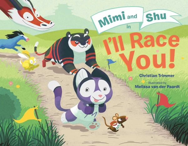 Mimi and Shu in I'll Race You!