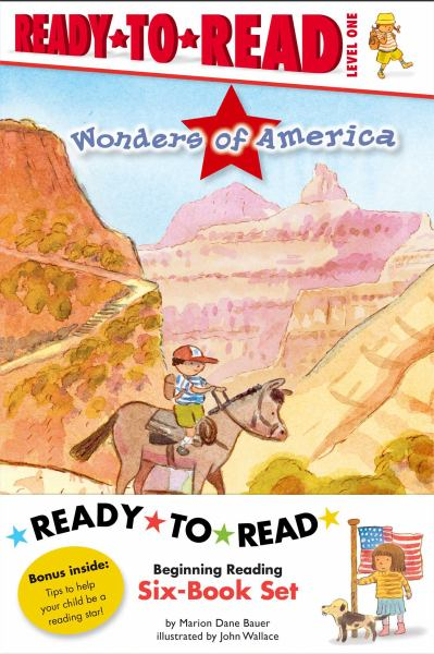 Wonders of America Ready-to-Read Value Pack:  Grand Canyon/Niagara Falls/ Rocky Mountains/Mount Rushmore/Statue of Liberty/Yellowstone (Level 1)