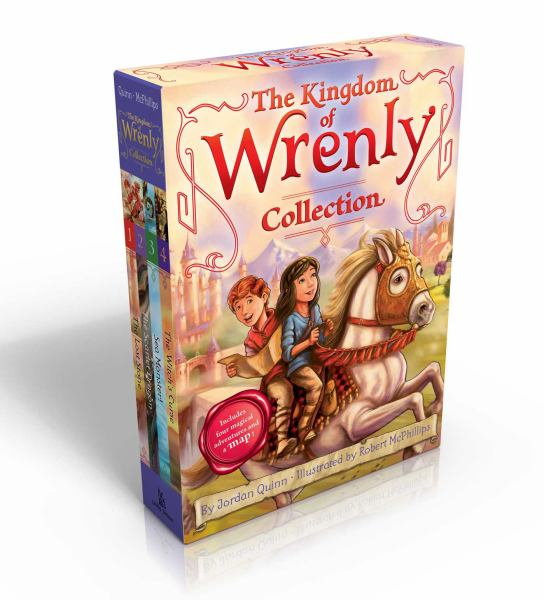 The Kingdom of Wrenly Colledtion (The Lost Stone/The Scarlet Dragon/Sea Monster/The Witch's Curse)