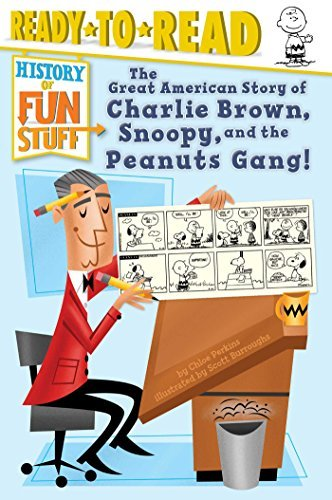 The Great American Story of Charlie Brown, Snoopy, and the Peanuts Gang! (History of Fun Stuff, Ready-to-Read Level 3)