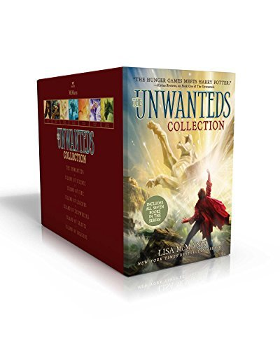 The Unwanteds Collection (The Unwanteds/Island of Dragons/Graves/Shipwrecks/Legends/Fire Silence)