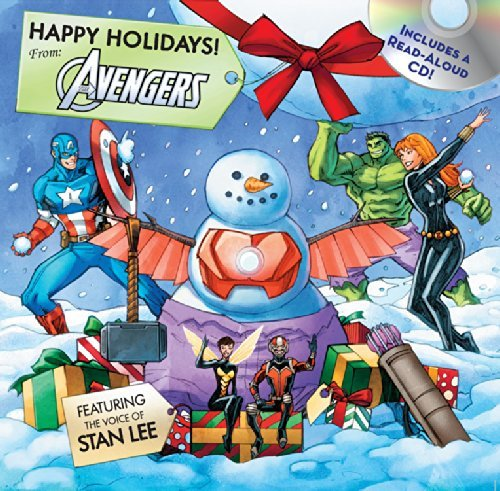 Happy Holidays! From the Avengers (Includes a Read-Aloud CD!)