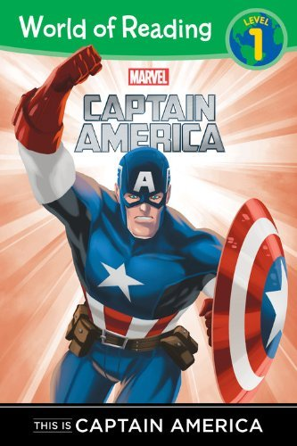 This is Captain America (Captain America, World of Reading Level 1)