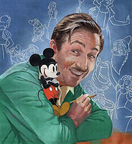 Walt's Imagination: The Life of Walt Disney (A Big Words Book)