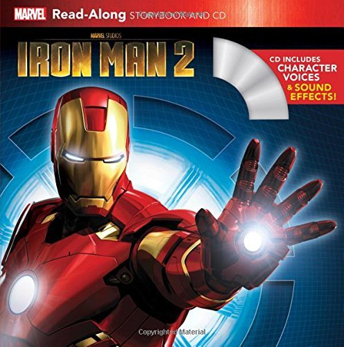 Iron Man 2 Read-Along Storybook and CD