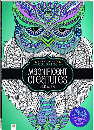 Magnificent Creatures and more (Kaleidoscope Coloring)