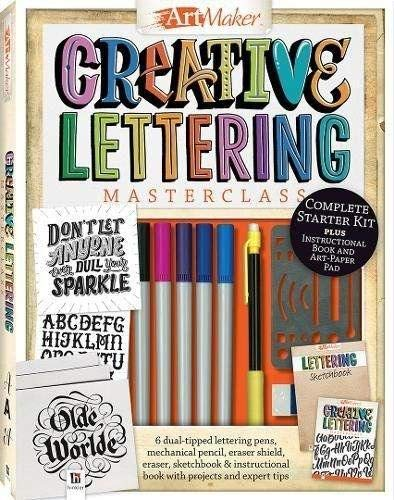 Creative Lettering Masterclass Kit (Art Maker)